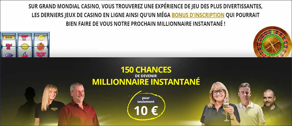 150 chances de devenir millionnaire