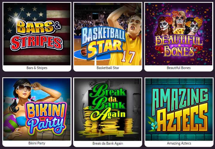 Les machines à sous les plus jouées de Spin Casino