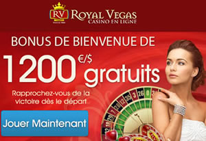 Royal Vegas Casino au Canada.