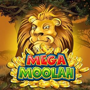 Le Mega Moolah - l'icône de la slot est le Roi de la jungle