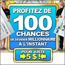 Le casino qui offre 100 tours à la slot progressive