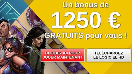 Le casino en ligne qui offre les bonus gratuits de bienvenue les plus profitables