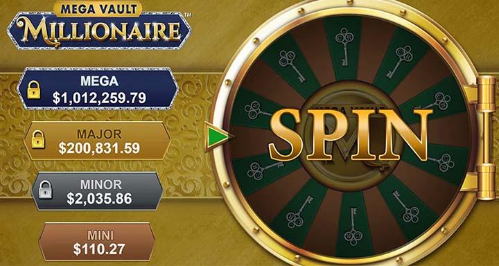 Le jeu Mega Vault Millionaire et ses 4 jackpots progressifs fait dorénavant partie des casinos en ligne Rewards - ce jeu a été mis en ligne en septembre 2019.