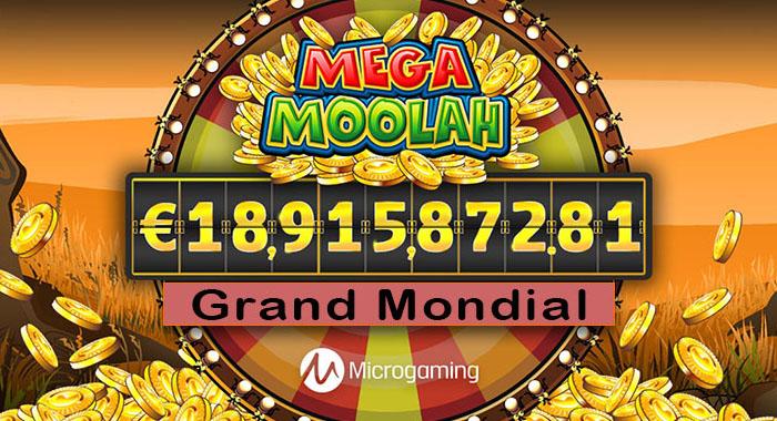 Records des joueurs gagnants au Mega Moolah