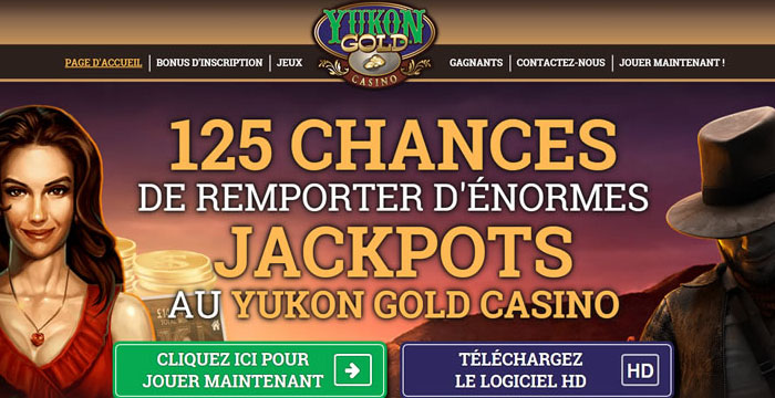 Yukon Gold Machines à Sous